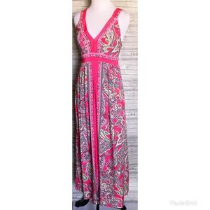 4 for $25 floral INC maxi dress